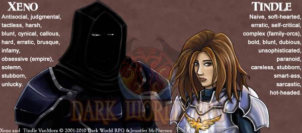 Character Flaws | Dark World RPG